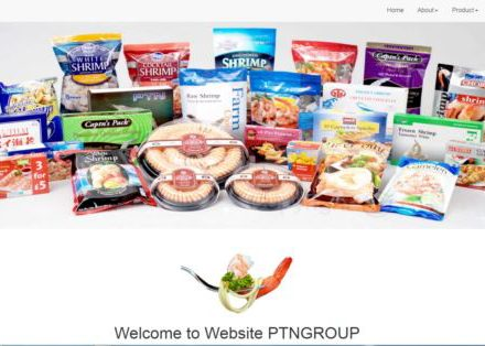 Web screenshot of the products of Phatthana Seafood Co., Ltd. The two US companies named in the complaint are Rubicon Resources and Wales & Co. Universe, while Thai firms Phatthana Seafood and SS Frozen Food were also accused of abuses.